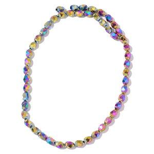 Gem Workshop Magic Color Glass Beads Strand TGW 367.50 cts.