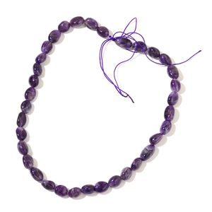Gem Workshop Amethyst Beads Strand (15 in) TGW 174.00 cts.