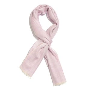 Pink Cotton Modal Blend Scarf (28x72 in)