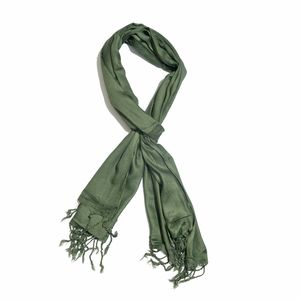 Forest Green 100% Modal Matty Weave Scarf (28x72 in)