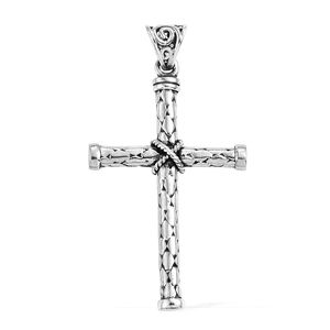 Sterling Silver Cross Pendant without Chain
