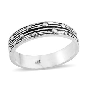 Sterling Silver Band Ring (Size 8.0)