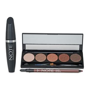 NOTE All Eyes On You Set - Eyeshadow, Mascara and Eye Pencil (Copper)