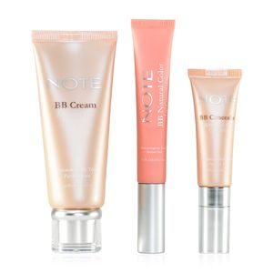NOTE Natural Beauty Set -BB Concealer, Lip Corrector and BB Cream (Light 01)
