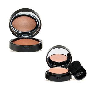 NOTE Blusher Set (Golden Pink Bronzer and Warm Pink Blush)