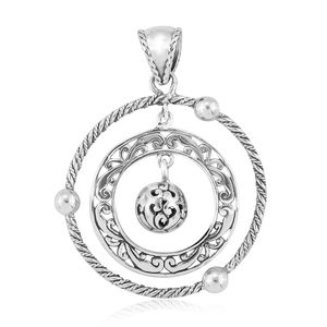 Bali Legacy Collection Sterling Silver Pendant without Chain (4.6 g)