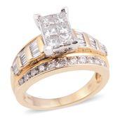 14K YG Diamond (H SI2) Ring (Size 7.0) TDiaWt 2.00 cts, TGW 2.00 cts.