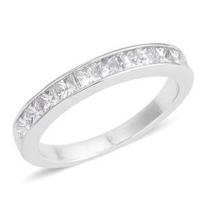 14K WG Diamond (H SI1) Ring (Size 7.0) TDiaWt 1.00 cts, TGW 1.00 cts.