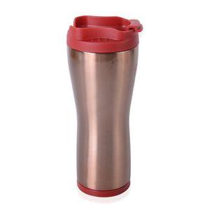 Red Cap Copper Mug (8.9x2.9x3.7 in)