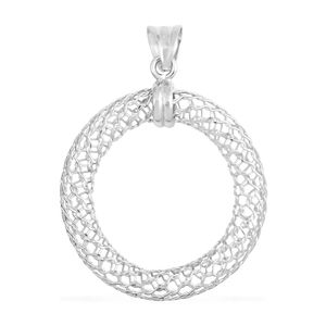 GP Sterling Silver Openwork Pendant without Chain (2.6 g)