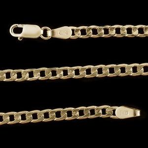 10K YG Cuban Chain (18 in)