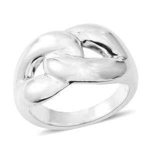 Sterling Silver Men's Ring (Size 12.0)