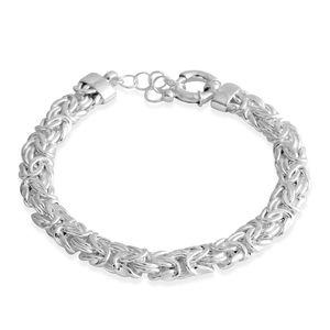 Sterling Silver Byzantine Bracelet (7.50 In)