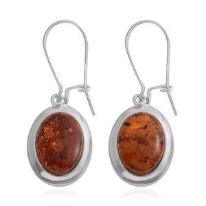 Baltic Amber Sterling Silver Earwire Earrings