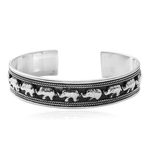 Sterling Silver Cuff (7.50 in, 24.4 g)